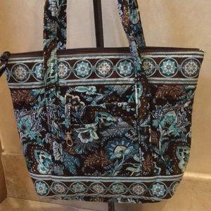 Vera Bradley Zippered Shoulder Bag